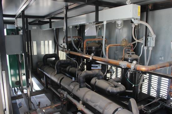 2016 Zero Zone Rooftop Compressor Rack System