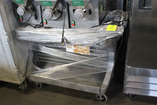 "Two-Tier Plastic 44"" Cart"