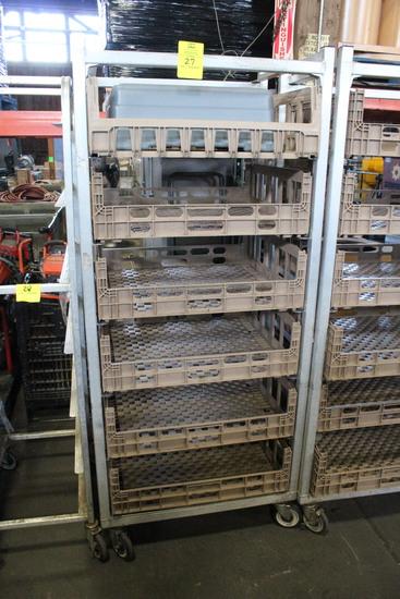 Crate Rack W/ Crates