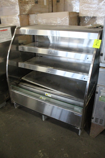 2017 Hill Phoenix 4' Hot Food Merchandiser