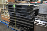 Stack Of Plastic Dunnage