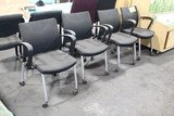 Chairs On Casters