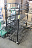 Wire Rack On Casters