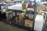 5' Stocking Cart W/ Assorted Food Service Items