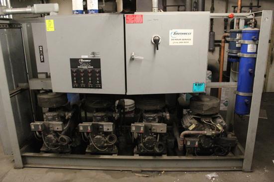 Southwest Refrigeration Low Temp Compressor Rack