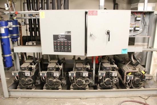 Southwest Refrigeration Med Temp Compressor Rack
