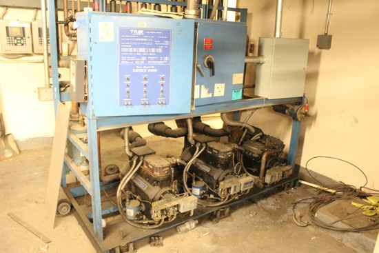 Tyler 3 Pump Med Temp Compressor Rack