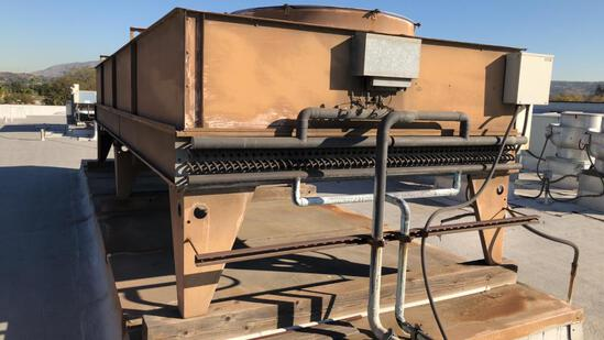 Frigid Coil 4 Fan Rooftop Condenser