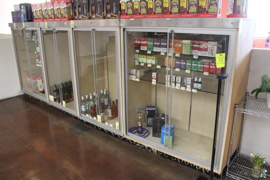 Locking Glass Door Merchandisers