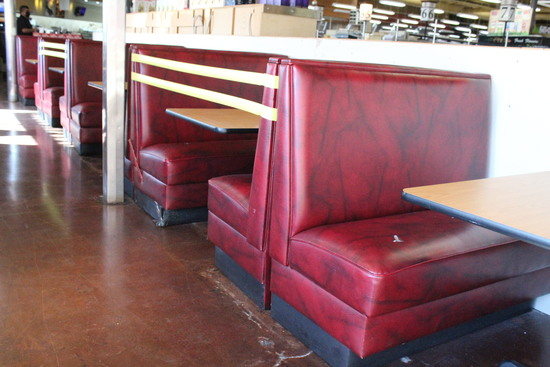Booth Seats W/ Tables