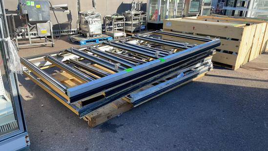 Pallet of low temp door frames