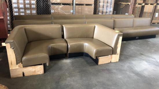 Group Of Padded Seating