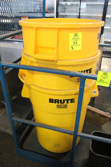 Brute Commercial Trash Cans