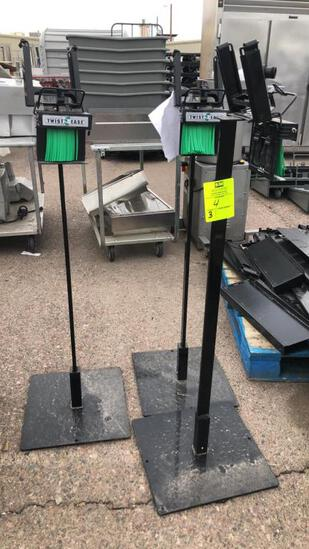 4' Tall Produce Bag Stands