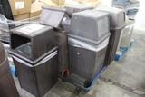 Pallet Of Trash Cans