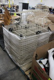 Pallet Of Wire Baskets On Casters