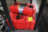 (2) 12 Gallon And (1) 3 Gallon Scepter Marine Gas Cans