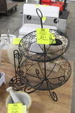 Fruit Basket And Paper Towel Stand