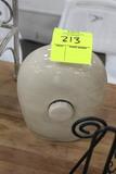Ceramic Decanter W/ Screw In Side Opening