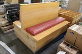 Double Sided Booth Seat
