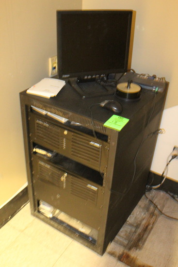 Security Rack And Contents