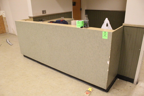 Customer Service Millwork Counter