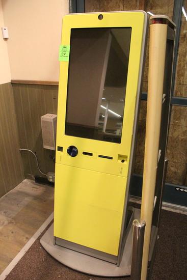 Lottery Ticket Sales Machine