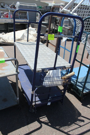 Two Tier Stocking Cart