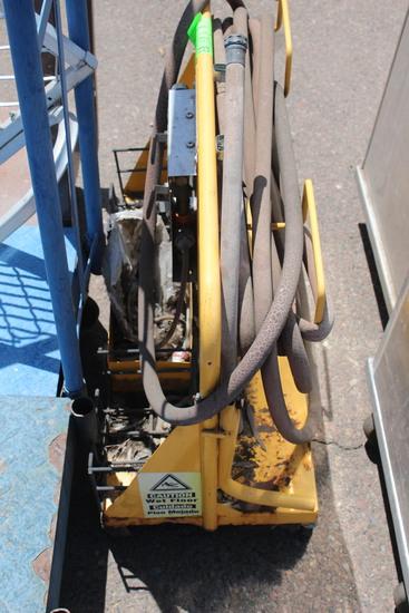 EcoLab Sanitizing Cart W/ Hose