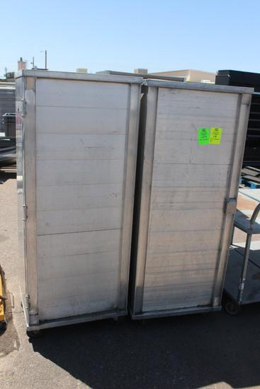 Enclosed Aluminum Transport Cabinets