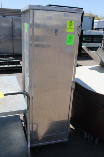 Enclosed Aluminum Transport Cabinet