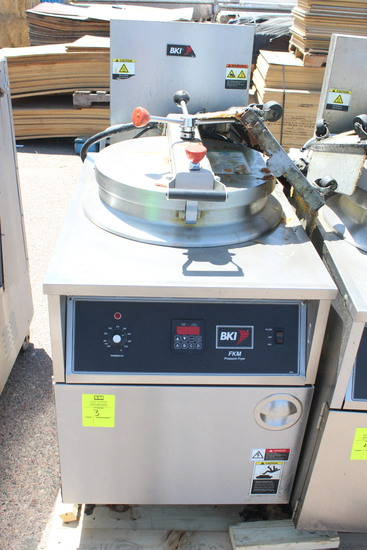 2017 BKI FKM-F Pressure Fryer