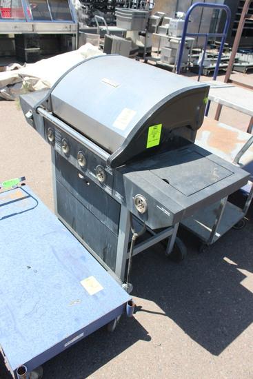 Brinkman Propane Grill W/ Side Burner