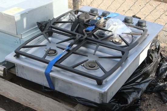 Dacor SGM304 Gas 4 Burner Range Top