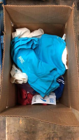 Box Of Assorted Baby Onesies