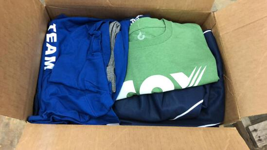 Box Of Assorted Shirts