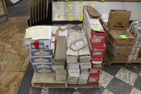 Pallet Of Assorted Flooring