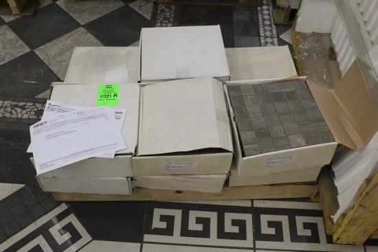 "Pallet Of Unicom 12"" x 12"" 4 Brown Tile (106.6 SF)"
