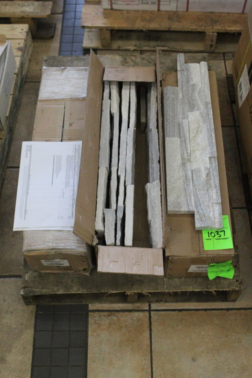 """Pallet Of Distinctive Stone 6"""" x 24"""" Crystal (18 SF)"""