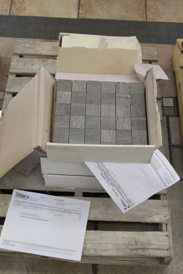 "Pallet Of Unicom 12"" x 12"" 4 Brown Tile (36.83 SF)"
