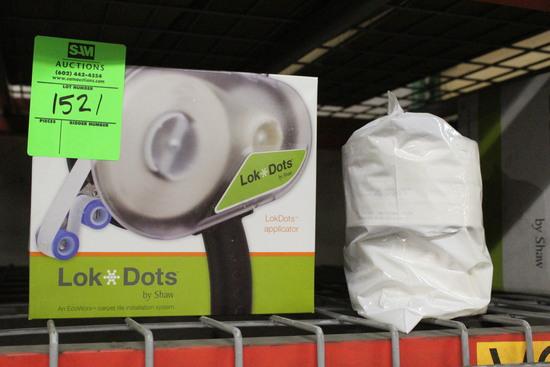 Lok Dot Applicator W/ Bag Of Rolls