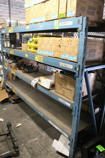 Ridge Rack Pallet Racking And Contents