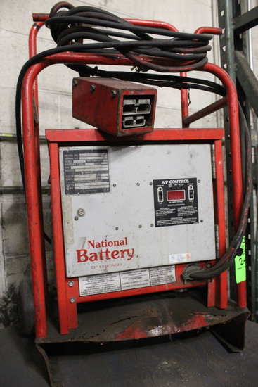 National Battery 24 Volt Battery Charger
