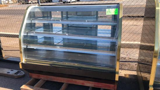 Barker 5' Curved Glass Bakery Case