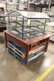 Bakery Merchandiser Built On Wooden Table