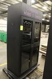 Four Door Merchandising Cabinet W/ Light Control