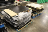 Pallets Of 4' Gondola Shelving Backboard