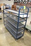 5' 5 Tier Stocking Cart