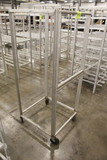 Rack From On Casters W/ No Shelves