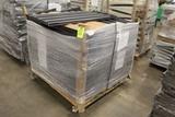 Pallet Of Hammer Gray Lozier Gondola Shelves